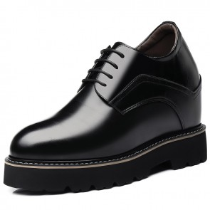 Super Hidden Taller Shoes for Men Height Elevator Business Dress Shoes Increase 5.5 inch / 14 cm