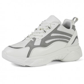 Best White Casual Chunky Sneaker That Give Your Height 3.2 inch / 8 cm