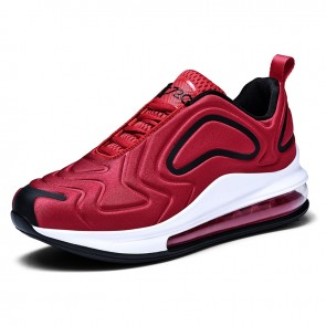 2018 Red Men Height Elevator Basketball Shoes Gain Taller 2.8inch / 7cm Air Cushion Training Shoes