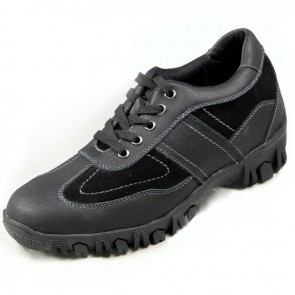 British elevator hiking shoes 7cm / 2.75inch height increasing outdoor shoes