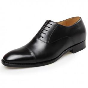 Vogue men elevator shoes designer taller dress oxfords shoes height 2.8inch