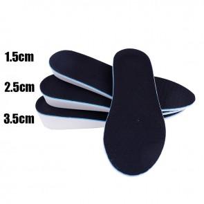 Unisex Height Increase Insole Cushion Hidden Lift Shoe Heel Insert Add Taller