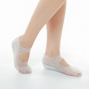 Silicone Gel Inserts Socks Invisible Height Increase Insole Heel Lift Pads Add Taller 1inch / 2.5cm