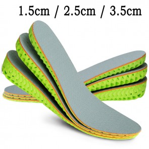 TopoutShoes Tailorable Height increasing Shoes Pad Breathable Honeycomb Heel Lift Cushion Insoles