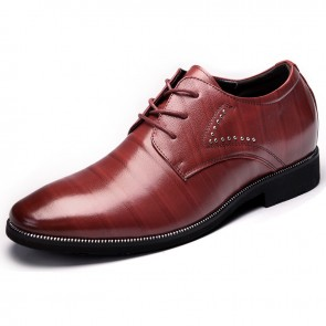 Elegant height shoes men taller business shoes