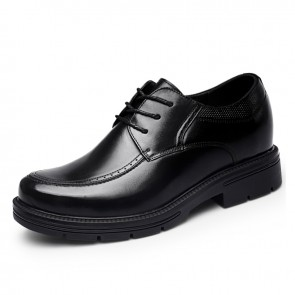 4inch Hidden Lift Dress Shoes Calfskin Taller Formal Business Shoes Increase Height 10cm