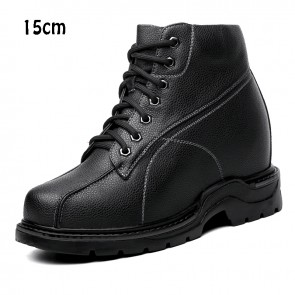 Super height increasing shoes 15cm tall men shoes