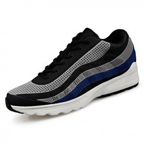 Hidden Taller Sneakers for Men Add Altitude 2.6inch / 6.5cm