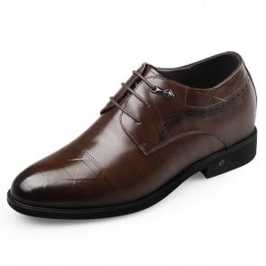 Gentleman Elevator Shoes make you look taller 2.6inch