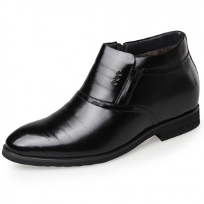 Zip elevator dress shoes increase height 2.4inch