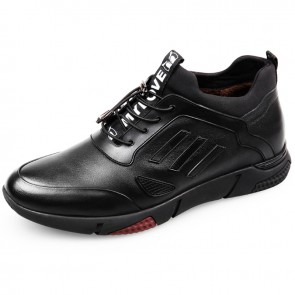 Winter elevator casual shoes taller 2.2inch / 5.5cm warm height increasing sport shoes