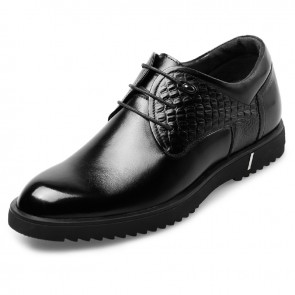 Elegant Height Enhancing Dress Shoes Taller for men 2.4inch / 6cm