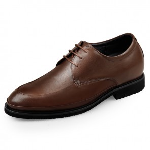 Lightweight Elevator Formal Shoes for men Taller 2.6inch / 6.5cm