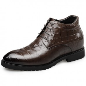 Height dress boot for men get taller 6.5cm