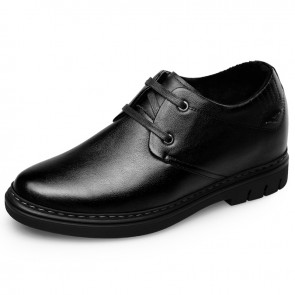 Best Heel Height Shoes for men taller warm casual shoes