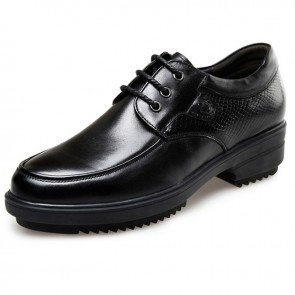 Korean elevator business taller gentlemen formal shoes 2.4inch / 6cm