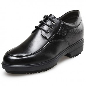Korean gentlemen height business taller formal shoes 3.2inch / 8cm