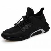 Ultralight Elevator Flyknit Shoes Slip On Height Increasing Sneakers Taller 2.4inch / 6cm