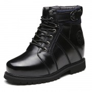 6inch Elevator Shoes 15cm Height Increasing Shoes Hidden Taller Ankle Boots