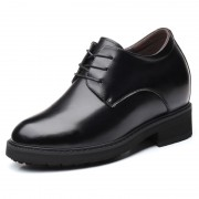 4 inch European Elevator Shoes Classic Hidden Lift Men Business Formal Shoes Increase Taller 10cm