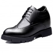 Wing Tip Height Elevator Brogue Shoes Make You Look Taller 4.7inch / 12cm