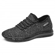 2019 Height Increasing Flyknit Trainers All Match Elevator Walking Shoes Get Taller 2.4inch / 6cm