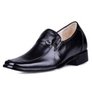 High heel dress elevator shoes 7cm/2.75inch taller shoes