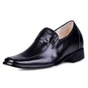 High heel dress elevator shoes 7cm/2.75inch taller shoes