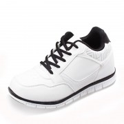 Men Height Increasing Sneakers Add Taller 8cm / 3.15inches Elevator Casual Sports Shoes