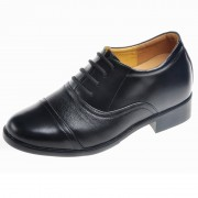 Best height increasing shoes for men get taller 8cm / 3.15inches elevator dress shoes for groom
