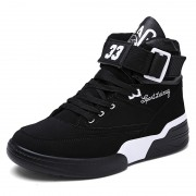 10cm / 4inch High top elevator unisex skate shoes