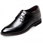 Modern Elevator Formal Shoes Taller 2.6inch / 6.5cm Lace Up Business Dress Shoes