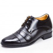 Men dress shoes that make you taller 3.2inches / 8cm height increasing wedding shoes