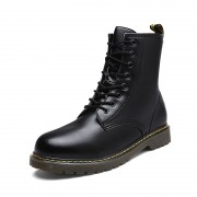 INS Tide Elevator Combat Boots Black Military Style Taller Motorcycle Boot Increase 3.2inch / 8cm