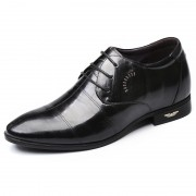 Best Elevator Wedding Shoes Taller 2.4inch / 6cm Lambskin Business Formal Shoes