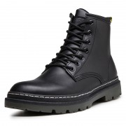 Extra Taller Motorcycle Boots Height 6.5 cm / 2.6inch Elevator Military Combat Boot Shoes