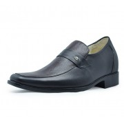 men height increasing elevator dress shoes get taller 7cm / 2.75inches