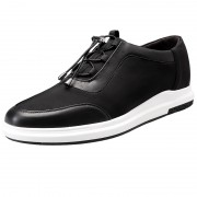 Campus elevator sneakers height taller 6cm / 2.4inch lace up board shoes