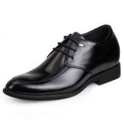 New elevator wedding shoes for men get taller 6.5cm / 2.56inches height increasing dress shoes