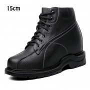 Super height increasing 15cm / 5.9inch tall men shoes