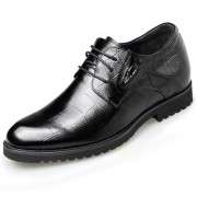 Tartan Design Men Dress Shoes Height Increasing 6.5cm / 2.6inch Formal Shoes