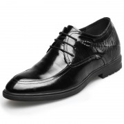 Best Elevator Wedding Shoes Increase 2.6inch / 6.5cm Taller Tuxedo Dress Shoes