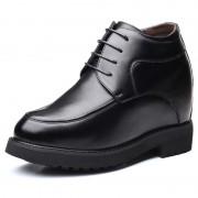 Classic 6 inch Taller Men Shoes Hidden Heel Lift Formal Tuxedo Shoes Increase Height 15 cm