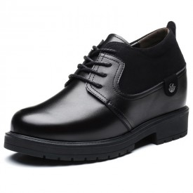 2021 Luxurious Elevator Business Shoes Comfort Height Increasing Shoes Add Taller 4inch / 10cm