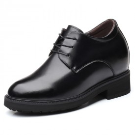 Elevator Shoes Men Height Increasing Shoe Gain Taller for