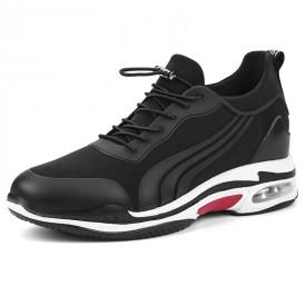 Trendy Hidden Lift Sneakers Slip On Men Elevator Trainers Loafers Get Taller 3.2 / 8cm