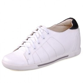 White men increasing sneakers shoes get tall 7cm / 2.75inches