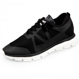 Breathable Elevator Fashion Sneakers 2.4inch / 6cm Men Height Increasing Running Shoes