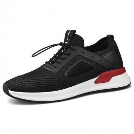 Relaxed Height Increasing Walking Shoes Lightweight Elevator Sneakers Look Taller 2.6inch / 6.5cm