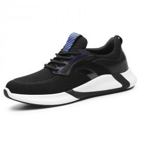 Elevator Men Flyknit Trainers Lightweight Hidden Height Running Shoes Taller 2.8inch / 7cm